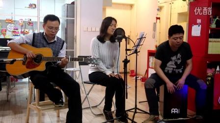 《车站》-李健版-黄较瘦+徐MM+夏巫师-吉他弹唱