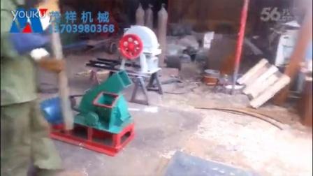 盘式木材削片机视频