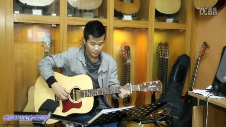 第46课 梁祝 指弹吉他教学入门吉他弹唱教程视频