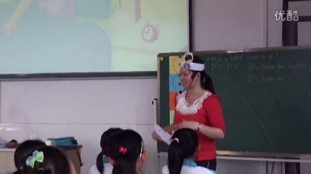 儋州市2014年小学英语教师课堂教学评比暨观摩研讨活动