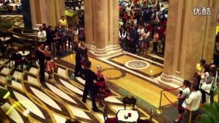 澳门威尼斯人度假村酒店 Venetian Resort 博彩区 舞蹈表演_高清