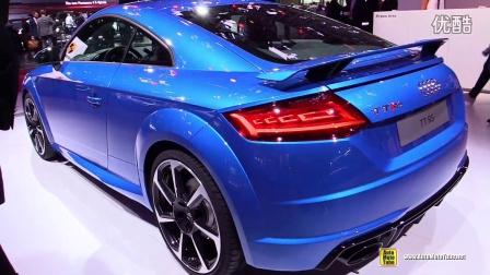 巴黎车展实拍2017奥迪Audi TT RS