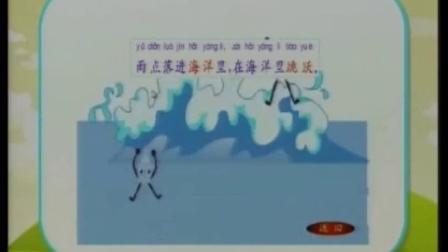 一年级下册 苏教版 雨点 江苏省优质教学资源课堂教学示范 模拟教学 图片