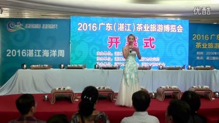 广东省第八届茶业博览会开幕式主持