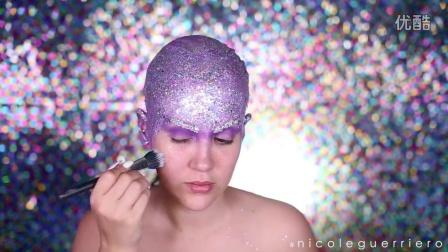 Halloween Look - Jewel Encrusted Extraterrestrial -- NICOLE GUERRIERO