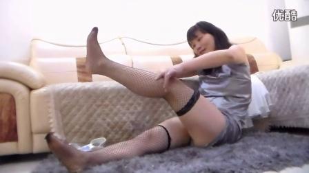 美女舞妹儿演示如何穿丝袜视频