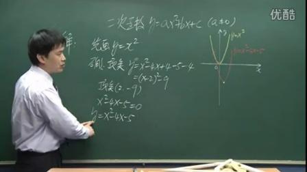 初中数学人教版九年级《二次函数的图像和性质03》名师微型课 北京刘润生