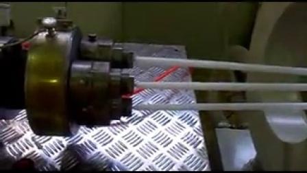 龙口75型pe发泡管棒机,发泡异型材设备,空调保温管生产线电话微信18854519161  QQ1441106875
