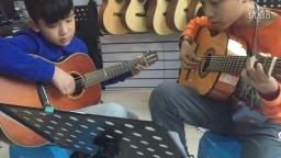 《小蜜蜂》双吉他(琴放吉他班)