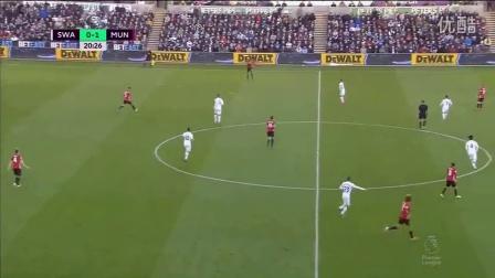 博格巴世界波伊布2球破荒 曼联3-1斯旺西近5轮首胜