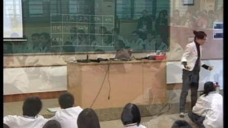 《培养团队精神》教学视频,吴惠贤,广东省中小学心理健康教育活动视频