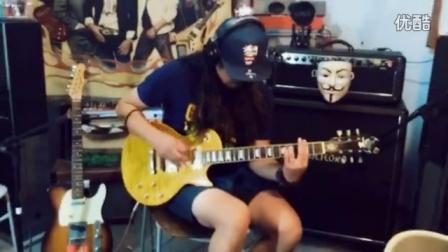 饭饭君弹吉他NO.17—谢天笑《冷血动物》