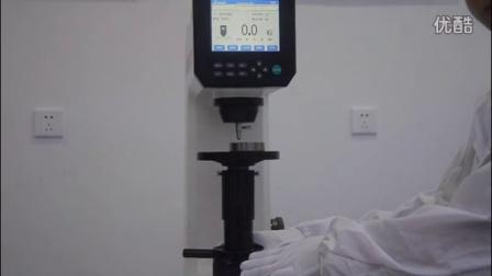 视频洛氏硬度计DigiRockDR3操作数显10配3股操作方法图片