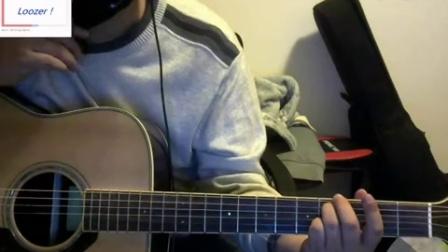 (鲁泽)TFboys 成员  新歌  王源 《长大以后的世界》 吉他弹唱教学