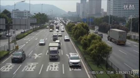 廣深公路(G107國道) 深圳市寶安區福永段 白石廈人行天橋