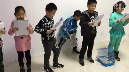 《爷爷的鸟笼》二年级八班 话剧一组