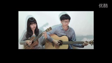 《我只在乎你》/邓丽君 尤克里里&吉他弹唱 Cover By香蕉&桃子 【桃子鱼仔ukulele教室】