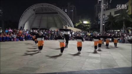 三妹姑广场舞-小儿拉丁功夫熊猫