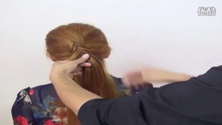 儿童短发发型图片青春时尚两股反辫编发造型2,你和别人的发型差距在哪里?