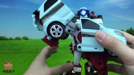 TOBOT 托宝兄弟变形金刚  夸特坦四合一变形组装机器人