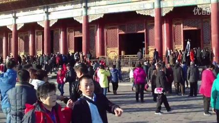 老同学北京故宫一日游