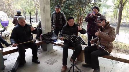 黄梅戏 送香茶,陈结林演唱,伴奏李江旺,李学