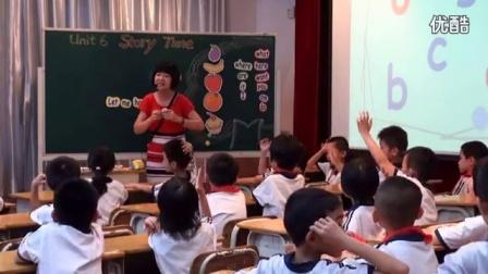 """小学英语 M2 unit6 story time 教学视频,吴彦蕾,""""创新教学、高效课堂""""英语学科教学展示活动"""