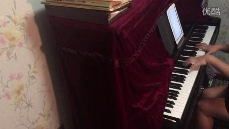 钢琴谱 天若有情
