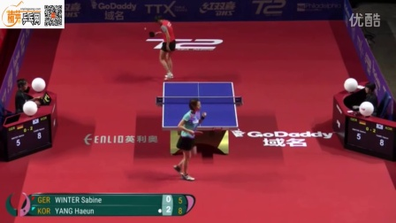 2016女子世界杯 萨比亚温特 VS 梁夏银