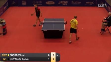 2016比利时公开赛 Cedric Nuytinck vs Viktor Brodd (R32)