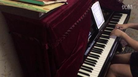 钢琴谱 你的名字 三叶角色主题音乐