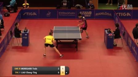 2016瑞典公开赛 Truls Moregard vs Liao Cheng-Ting (U21-R32)