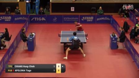 2016瑞典公开赛 阿波罗尼亚 vs江宏杰 (R64)