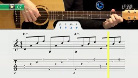 吉他视频学火灾-初学者指弹吉他跟着逃生动画视频图片