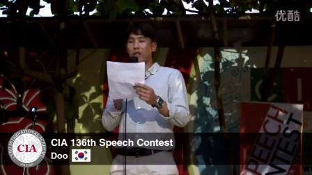 【菲律宾英语留学】CIA英语学院 -第136届英语演讲-----来自韩国的学生朋友~~
