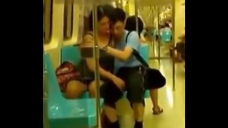 地铁小情侣真销魂