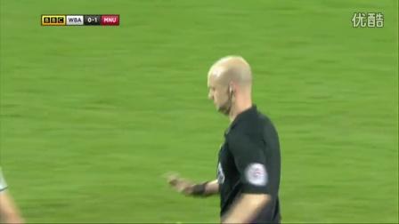 伊布梅开二度鲁尼助攻 曼联2-0西布朗力夺3连胜