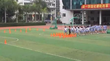 《灵敏性、协调性结合快速跑练习》教学课例(九年级体育,海滨中学:李天福)