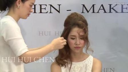 彩妝8韓式新娘妝眼妝(28)8歐式新娘發型圖片