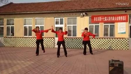 寿光市侯镇杨官庄广场舞104爱拼才会赢