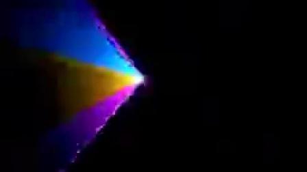 1W全彩激光 夜场酒吧迪斯科灯光效果展示 娱乐场所灯光效果