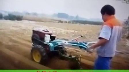 手扶拖拉机单桦犁