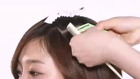 韓式新娘盤發圖片 好打理的卷發 凌亂盤發