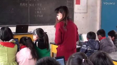 一、选取颜色(小学信息技术_人教2001课标版一、二年级起点_第二册)