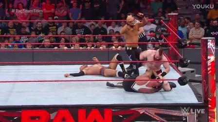 【RAW 01/16】大白&瑞士超人犯规 巧助自己保住冠军