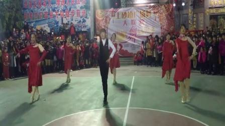 上砂天姿舞团参加上砂镇广场舞大联欢演出斗牛舞