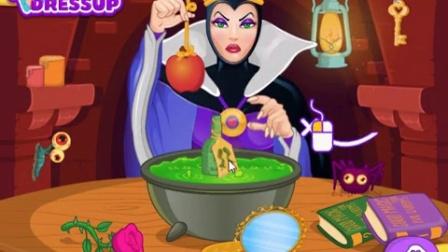 苹果的毒国语白雪公主动画片皇后版白雪公主和七个小矮人★白雪公主拍照镜头电影图片