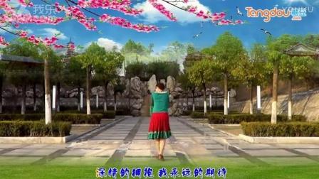 33爱从草原来 纯艺舞吧广场舞(背面演示及分解)