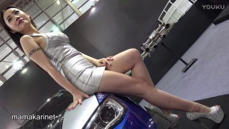 上海改装車展美脚