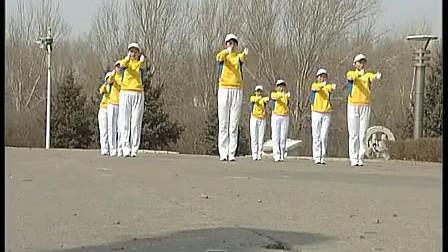 齐齐哈尔市神鹤反思快乐舞步有氧健身操食品卫生安全知识课后起飞图片